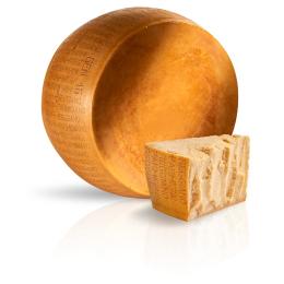 forma di parmigiano reggiano DOP oltre 22 mesi